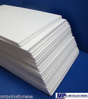 £12 • Buy Expanded Polystyrene Sheets Foam Packing Various Thickness  And Grades