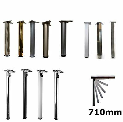 4x 710mm Adjustable Folding Kitchen Worktop/Desk/Breakfast Bar/Table Leg • 44£