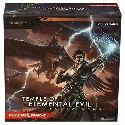 AU115.18 • Buy D&D Dungeons & Dragons: Temple Of Elemental Evil Board Game