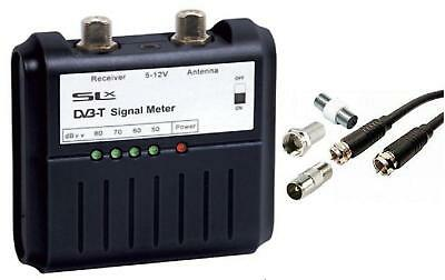 Slx Digital Tv Aerial Signal Strength Finder Meter • 16.90£