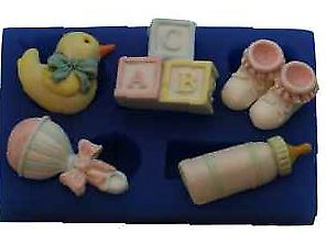 Baby Set 3 - B173 FIRST IMPRESSIONS MOLDS - Silicone Moulds • 11.06£