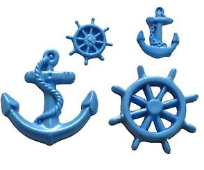 £8.45 • Buy Mini Wheel & Anchor - S111 FIRST IMPRESSIONS MOLDS - Silicone Moulds