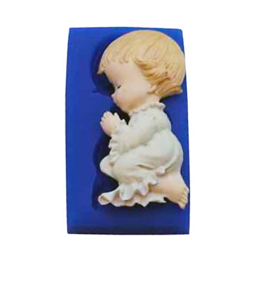 Praying Girl - B194 FIRST IMPRESSIONS MOLDS - Silicone Moulds • 12.48£
