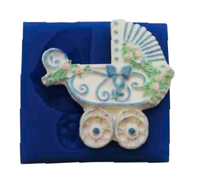 Baby Carriage - B151 FIRST IMPRESSIONS MOLDS - Silicone Moulds • 19.41£