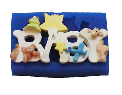 Baby Boy - B226 FIRST IMPRESSIONS MOLDS - Silicone Moulds • 20.79£