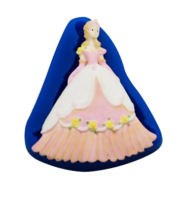 Princess - MN308 FIRST IMPRESSIONS MOLDS - Silicone Moulds • 9.40£