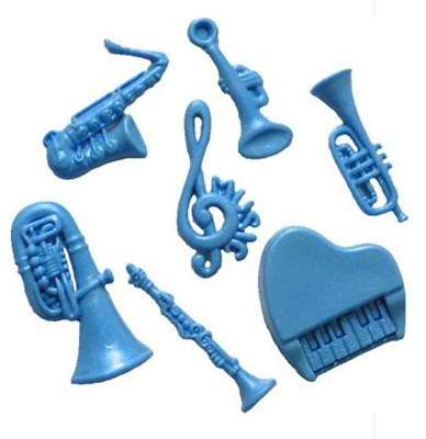 £6.62 • Buy Musical Set - SH134 FIRST IMPRESSIONS MOLDS - Silicone Moulds