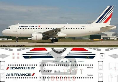 V1 Decals Airbus A320 Air France For 1/144 Revell Model Airplane Kit V1D0108 • 10.74£
