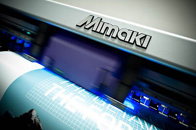 £4495 • Buy Mimaki UJV 160 UV Flat Bed Printer With Ink And Tables Roland Spares / Repairs*