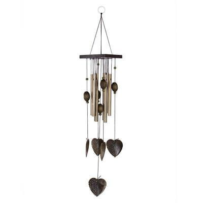 £7.90 • Buy Heart Decor Windchimes Wind Chime Metal 8 Tubes Hanging Ornament Garden Home