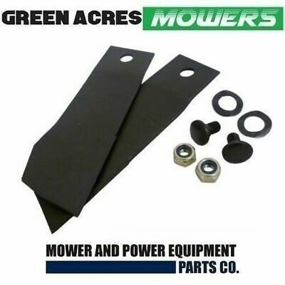AU20.50 • Buy Ride On Mower Blade Kit For  28 , 30 , 32 & 34 Inch Greenfield Mower Gt2139