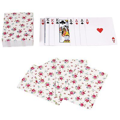£4.95 • Buy Dotcomgiftshop LA PETITE ROSE PLAYING CARDS IN A TIN