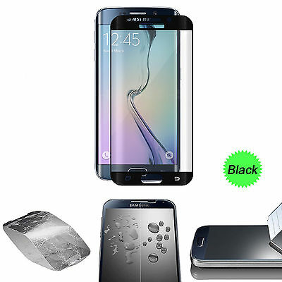 $ CDN6.20 • Buy Black Full Cover Tempered Glass Screen Protector For Samsung Galaxy S7 Edge