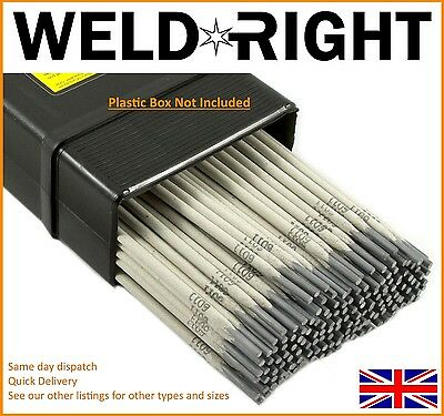 Weldright General Purpose E6013 Arc Welding Electrodes Rods 1.6-5.0mm 5-100 Rods • 12.99£