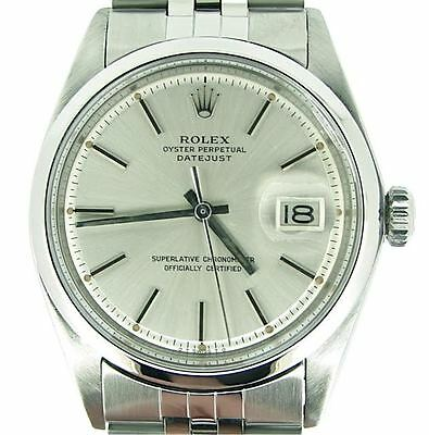 $ CDN5231.80 • Buy Rolex Datejust Mens Stainless Steel Watch With Domed Bezel And Silver Dial