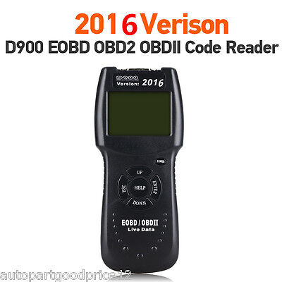 D900 Car Universal OBD2 EOBD CAN Fault Code Reader Scanner Diagnostic Scan Tool • 33.20$