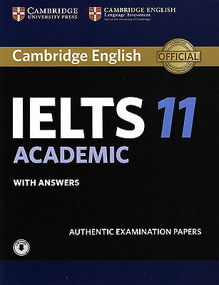 Cambridge English IELTS 11 ACADEMIC With Answers & Downloadable Audio @NEW@ 2016 • 33.44£