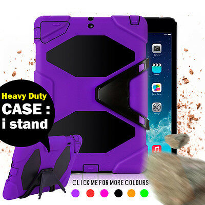 AU18.95 • Buy Kids Heavy Duty Shock Proof Case Cover For IPad 2 3 4 Air 2 Pro 9.7 12.9 10.5