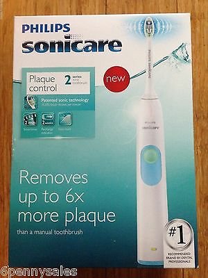 AU79.87 • Buy SONICARE Plaque Control HX6211/04 Electric Power Toothbrush SERIES 2 Sonic Care