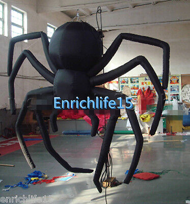 $ CDN490.03 • Buy Giant Party Decoration Halloween Inflatable Hanging Spider For Sale