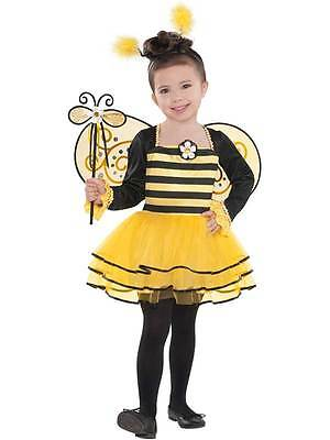 £14.99 • Buy Bumble Bee Ballerina Tutu Costume Fancy Dress Outfit 3-6 Years Wings Child Girls