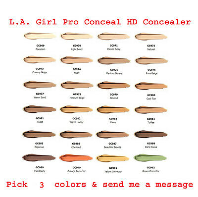 $9.98 • Buy L.A. Girl Pro Conceal HD Concealer /  Pick 3 Colors