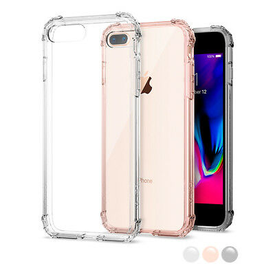 AU21.34 • Buy Apple IPhone 7 Plus Spigen® [Crystal Shell] Shockproof Case Clear Bumper Cover