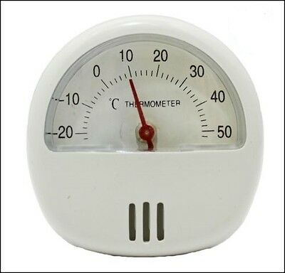 Magnetic Thermometer With Stand Fridge Room Temperature New Mini Gauge Dial Shed • 2.67£