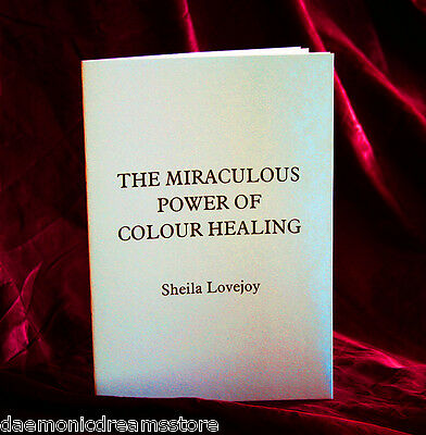 £44.90 • Buy THE MIRACULOUS POWER OF COLOUR HEALING.  Finbarr Occult  Magick.  White Magic