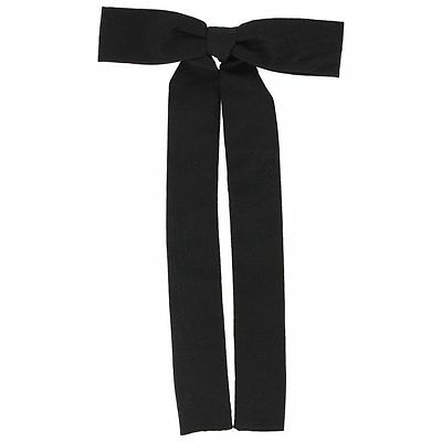 Clip-on ~ COLONEL TIE ~ Black String Tie, Square Dance, Western Bow, Kentucky • 5.01£