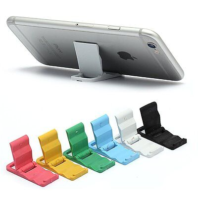 $3.95 • Buy Lovely Universal Foldable Mini Cell Phone Desk Stand Holder For IPhone/ Samsung