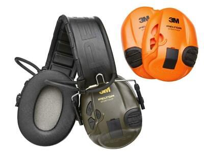 PELTOR EAR DEFENDERS SportTac Electronic Shooting Sportac Hearing Protection 3M • 128£