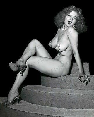 AU20.81 • Buy 8x10 Print Sexy Model Pin Up Tempest Storm Busty Pose Nudes #TS1