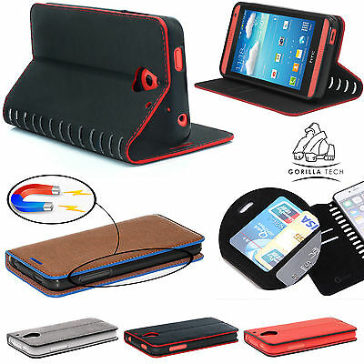 £4.45 • Buy Luxury Magnetic Flip Cover Stand Designer Leather Wallet Case For Mobile Phones