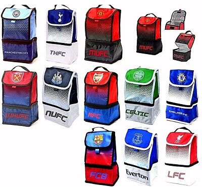 £13.45 • Buy Football Club Adult Children School Office Snack Insulated Lunch Bag Box Case