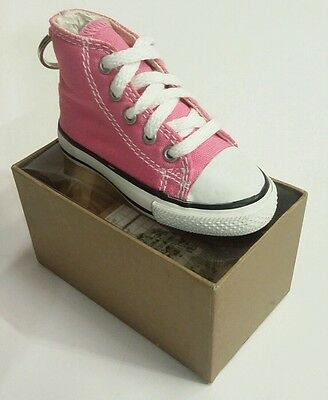 $17.88 • Buy Converse All Star Key Chain/Ring Keychain Pink Hi/High Top Shoe/Sneaker 5 Eyelet