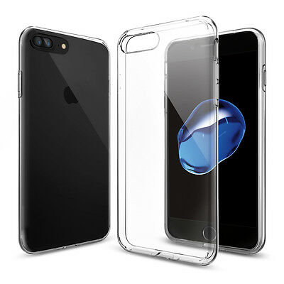 AU19.92 • Buy Spigen® For Apple IPhone 7 / 7 Plus [Liquid Crystal] Ultra Thin Clear TPU Case