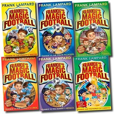 £14.99 • Buy Frank Lampard 6 Books Set Collection Frankie's Magic Football World Cup Carnival