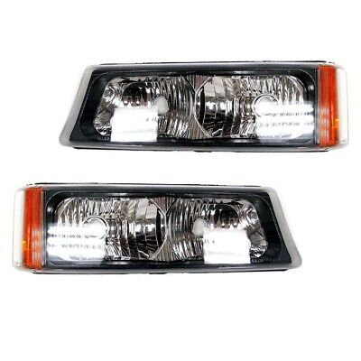 $131.99 • Buy OEM NEW Day Time Parking Light Lamp Right & Left Set (2) 03-07 GM Truck & SUV
