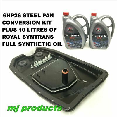 AU330 • Buy Ford BF FG ZF6HP26 Steel Pan Conversion Kit Plus 2 X 5ltr ROYAL Oil