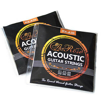 $ CDN7.04 • Buy Set Of 6 Acoustic Classic Guitar Strings Silver Set Light Gauge Replacement UK