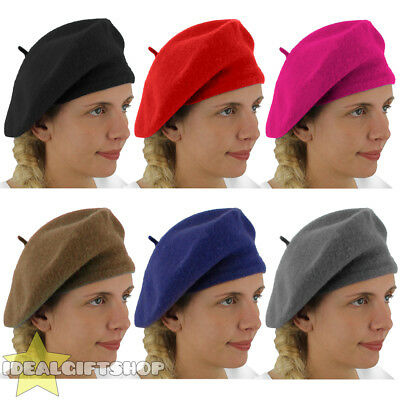 £1.99 • Buy Ladies Beret Vintage French Costume Hat Bastille Day French Fashion Fancy Dress