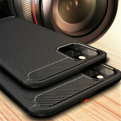 AU4.38 • Buy Luxury Shockproof Hybrid Rubber Silicone Soft TPU Brushed Case Cover For Phone