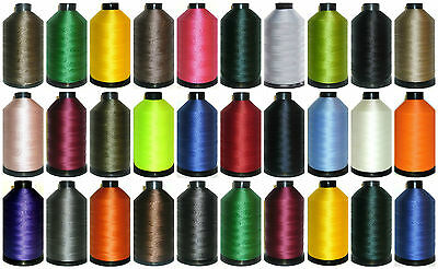 £14.99 • Buy Strong Bonded Nylon Thread 40's, 3000mtr, Upholstery, 30 Colours, Free P&p