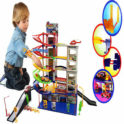 £24.98 • Buy Kids Car Garage Parking Race Track Children Play Toy Accessories Set Xmas Gift