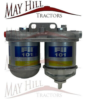 Case International, Massey Ferguson, Ford Tractor Fuel Filter Assembly - Twin • 31.30£