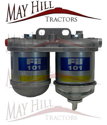 £31.30 • Buy Case International, Massey Ferguson, Ford Tractor Twin Fuel Filter Assembly