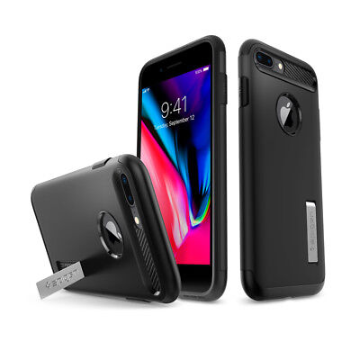 AU42.71 • Buy For IPhone 7/8 / 8 Plus/7 Plus Spigen® [Slim Armor] Protective Hard Cover Case