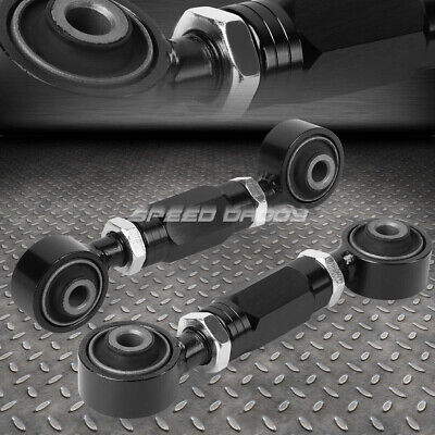 $23.88 • Buy Adjustable Rear Lower Toe Camber Control Arm Kit 88-00 Civic/crx/del Sol Black