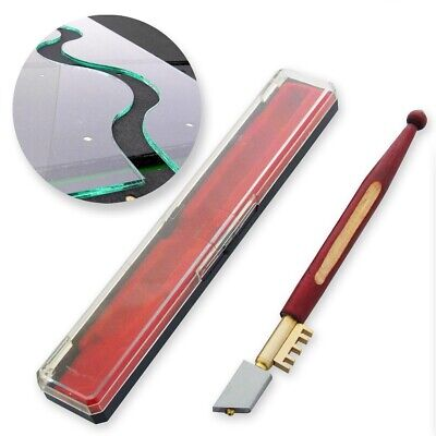 DIAMOND GLASS/TILE CUTTER Mirror Score Slice Cut Break Mark Precision Hand Tool • 4.59£